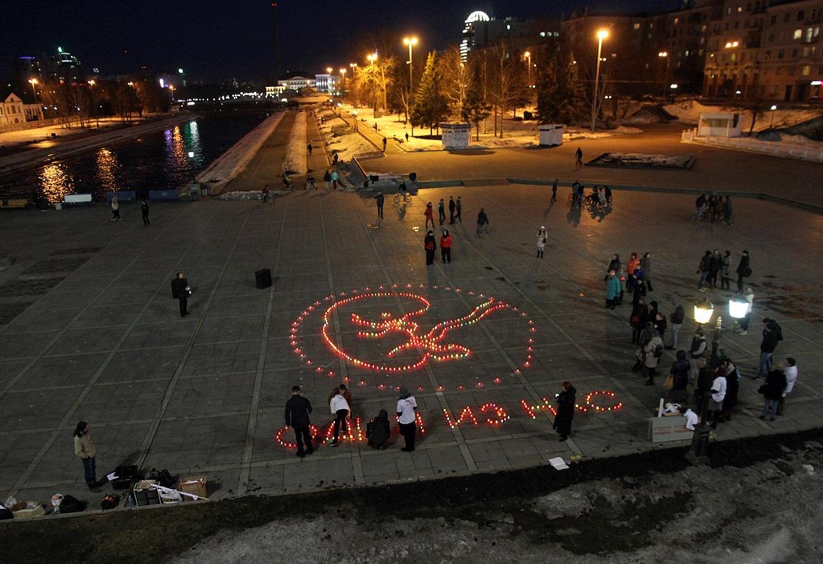 Екатеринбургская епархия зажжет на Плотинке 10-метрового младенца