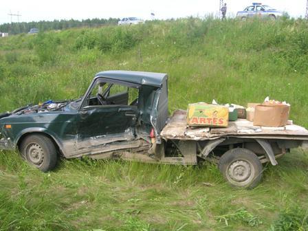 На Серовском тракте ВИС не поделил дорогу с Audi Q7