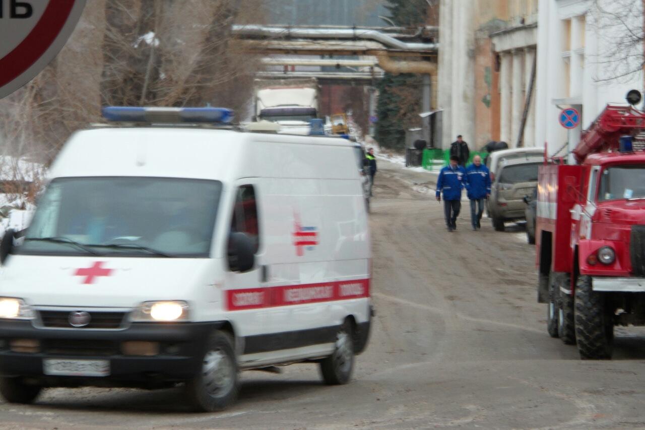 При пожаре на заводе «ВИЗ-Сталь» пострадали пять человек