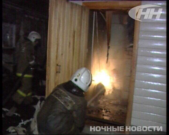 В коллективном саду Екатеринбурга сгорела баня