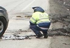 ГИБДД ищет водителя, сбившего пешехода на дублере Сибирского тракта