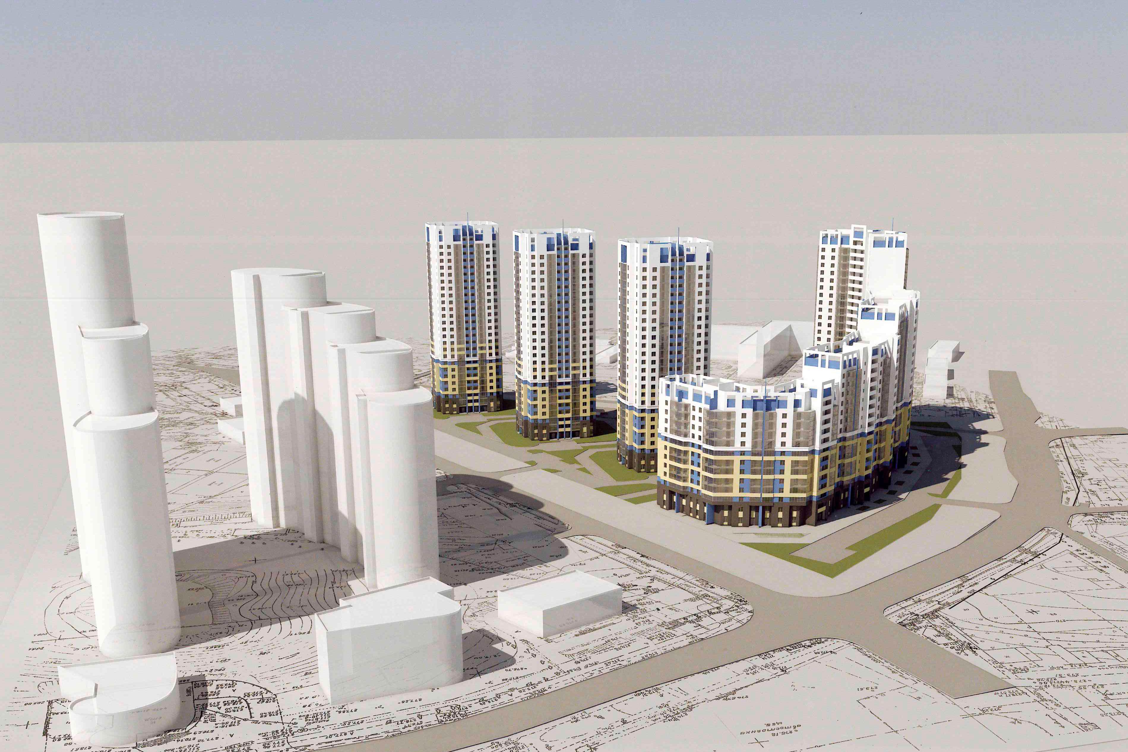 «Группа ЛСР» застроит ВИЗ 25-этажными высотками