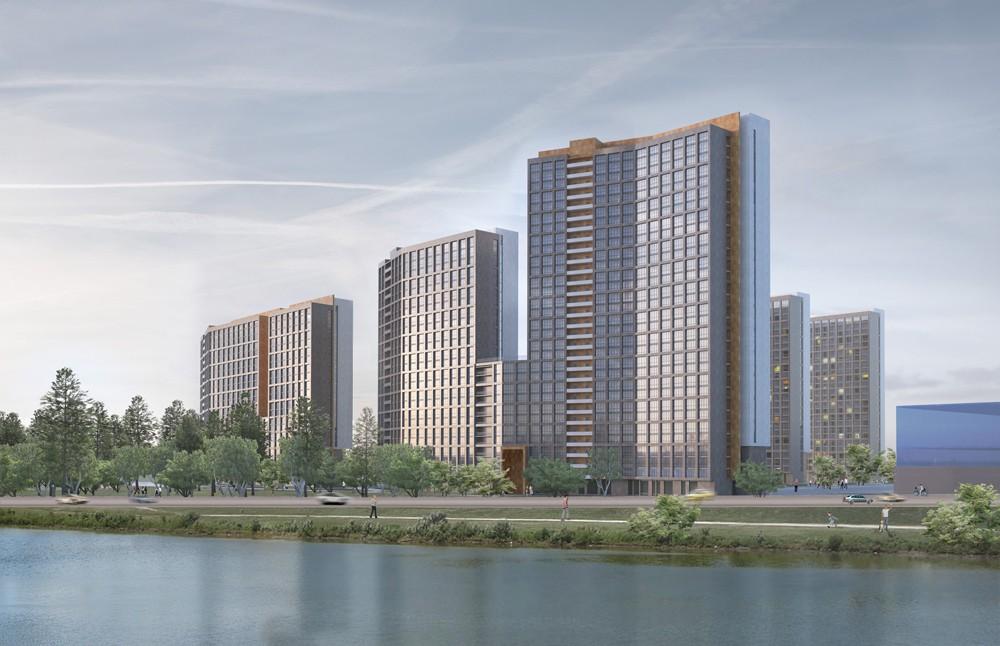 Напротив гостиницы «Рамада» построят высотный жилой микрорайон