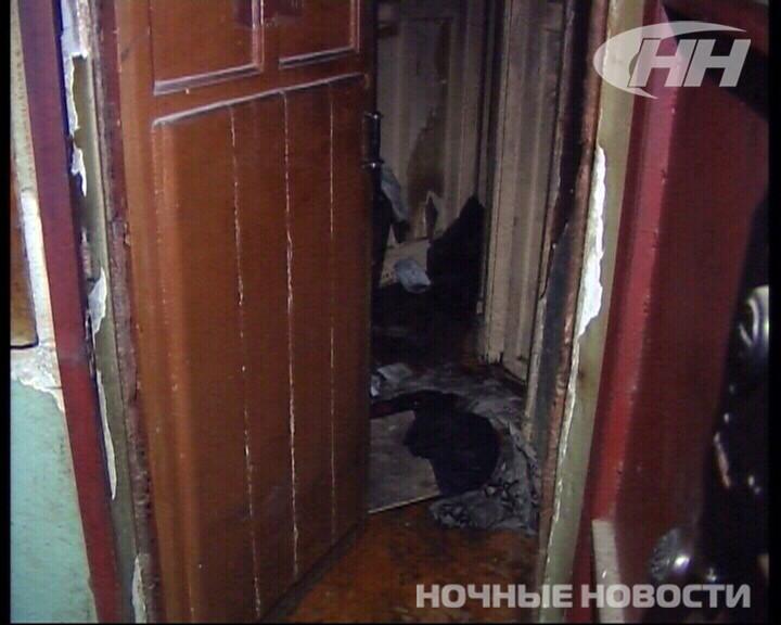 Ночью на Луначарского сгорела квартира