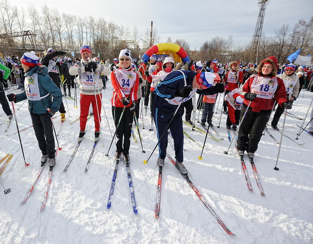 «Лыжню России» в Екатеринбурге перенесли из-за холодов