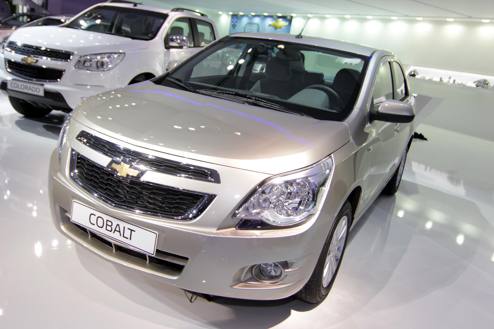 Компания Chevrolet показала бюджетный седан для России