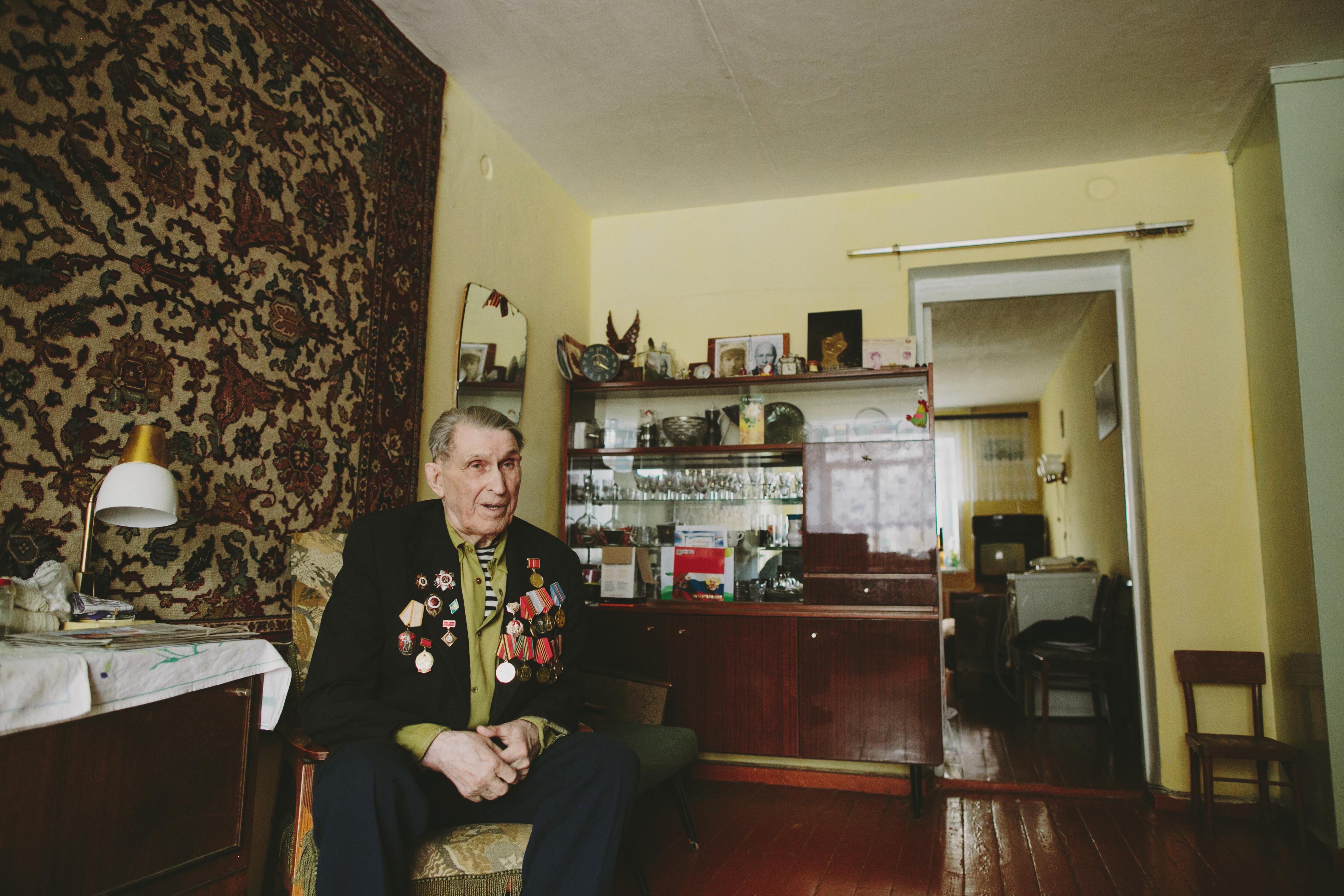 Живые легенды: Иннокентий Федорович. Публикуем истории ветеранов из Верхней Пышмы