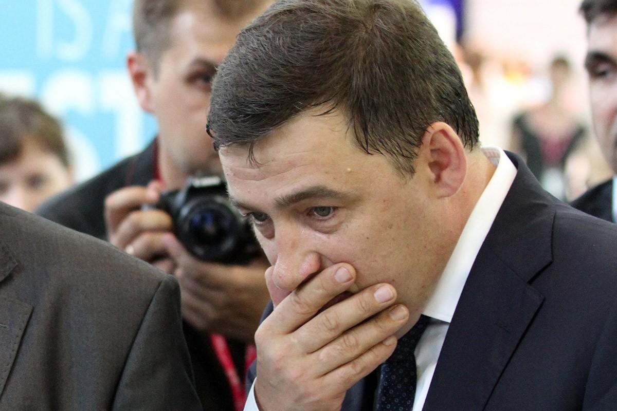 Евгений Куйвашев стал лидером падения в рейтинге губернаторов