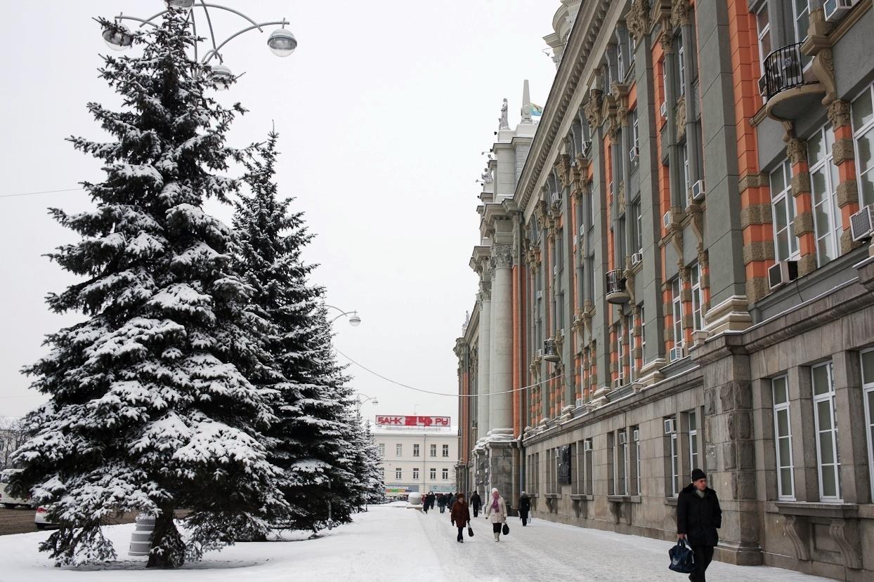 В выходные екатеринбуржцев ждет небольшой снегопад