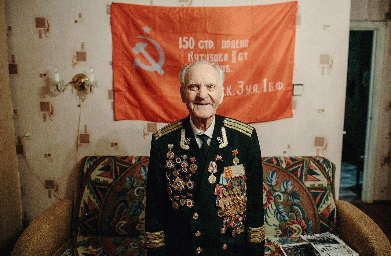 В «Гринвиче» открылась фотовыставка о ветеранах войны из Екатеринбурга