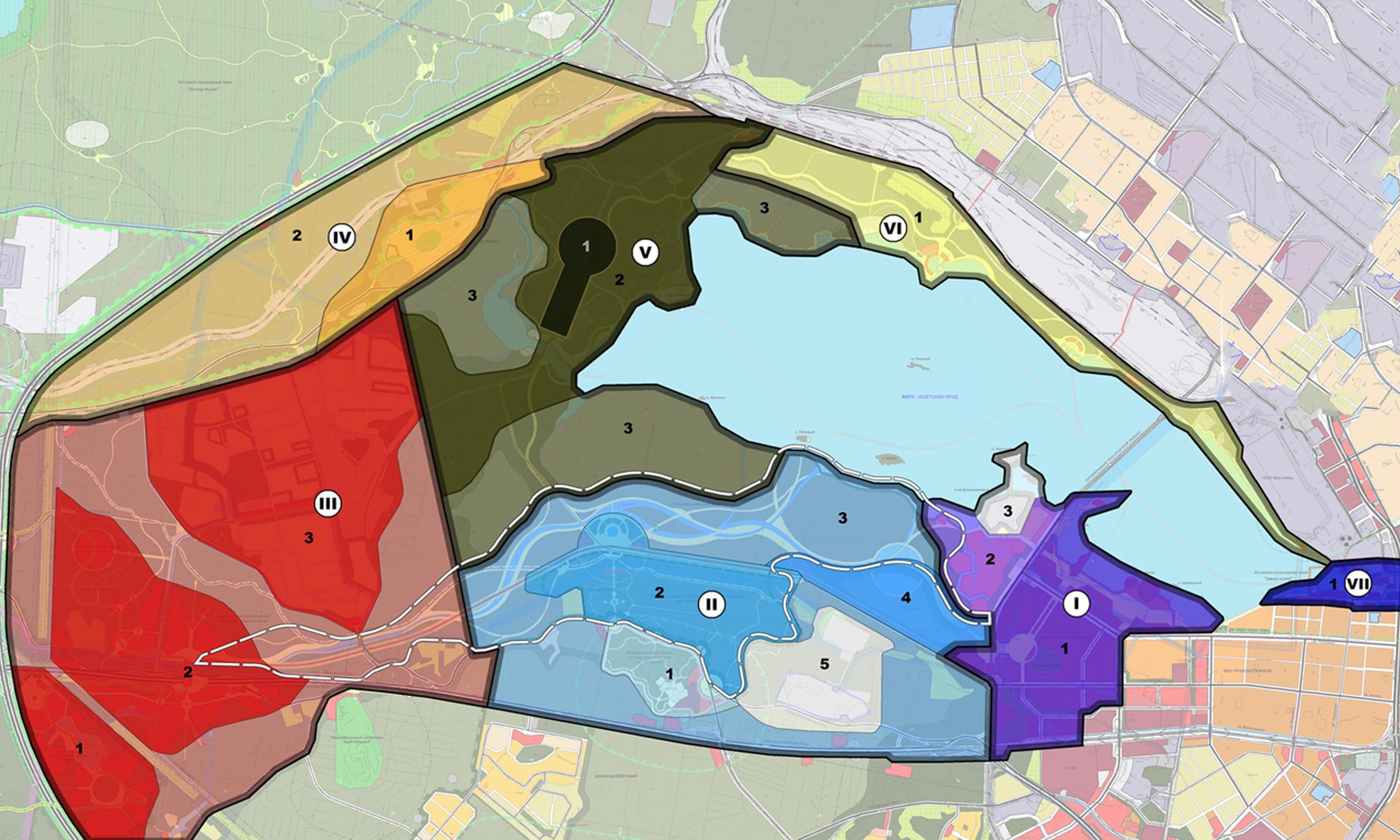 На строительство вокруг Верх-Исетского пруда пустят бюджет Екатеринбурга за 80 лет