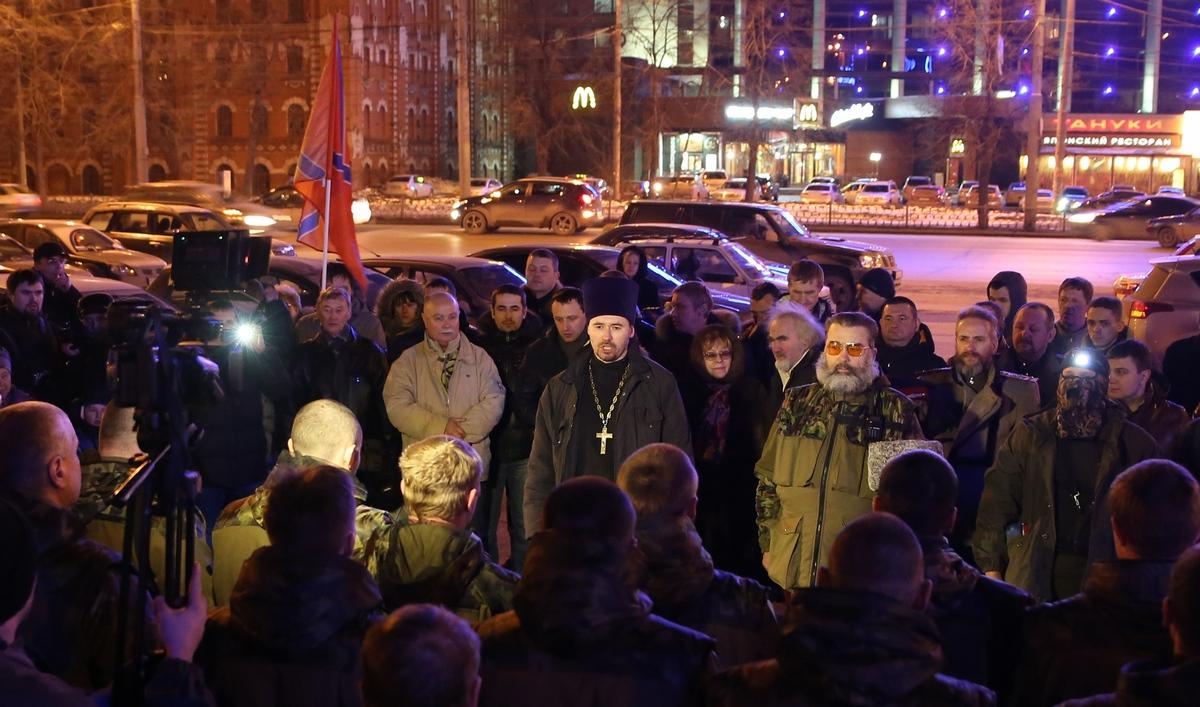 Священника, благословившего роту добровольцев на поездку в Донбасс, отлучили от служения