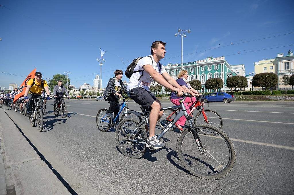 Завтра в Екатеринбург прибудут участники рекордного велопробега