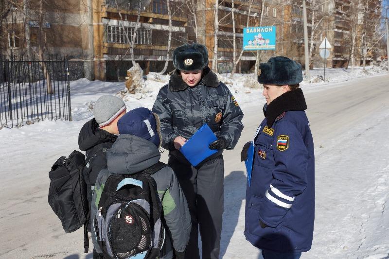 В Екатеринбурге инспекторы ГИБДД гонялись за пешеходами-нарушителями
