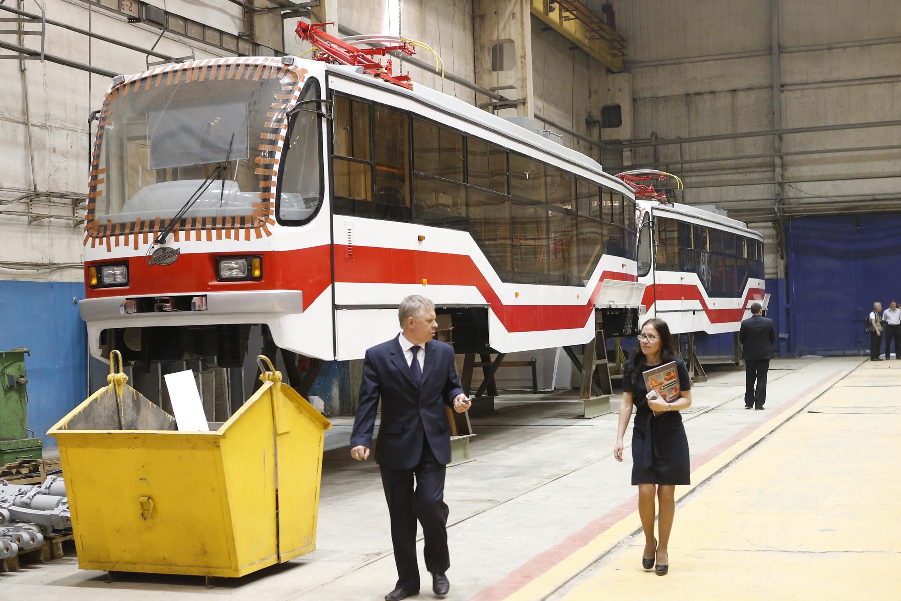 Соглашение о поставках низкопольных трамваев в Екатеринбург примут на «Иннопроме»