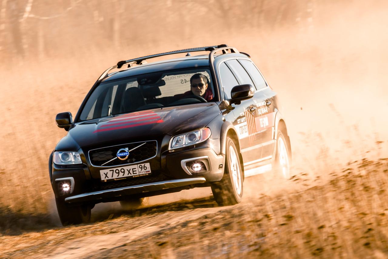 Пересекая местность: тестируем обновленный Volvo XC70 Cross Country
