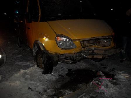 На Серовском тракте лоб в лоб столкнулись Daewoo и «Газель»