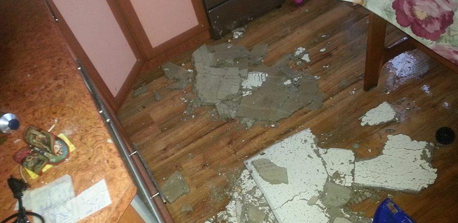 На чердаке прорвало трубу залило квартиру что делать