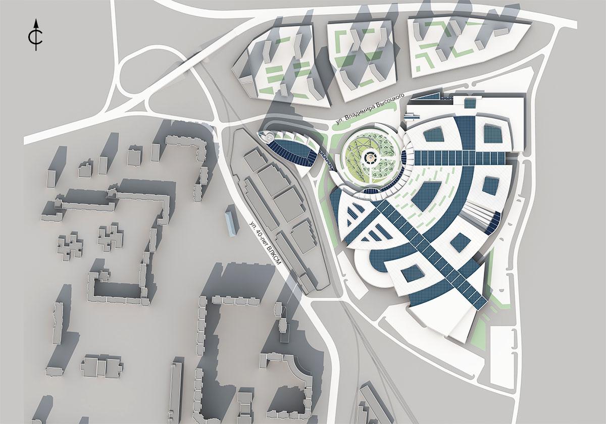 На месте Кировского оптового рынка построят автовокзал и много жилья