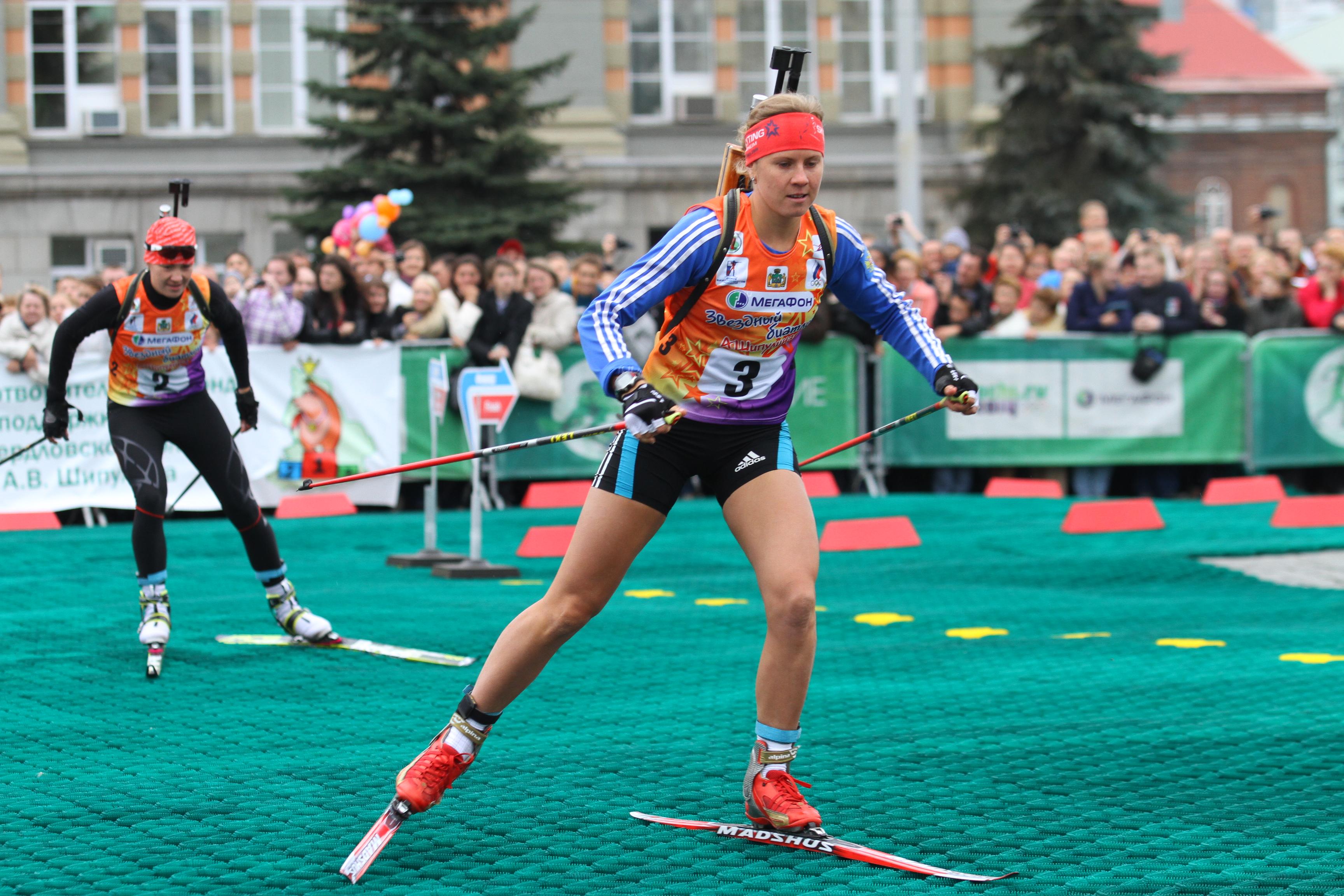 Звезды биатлона подарили Екатеринбургу праздник спорта