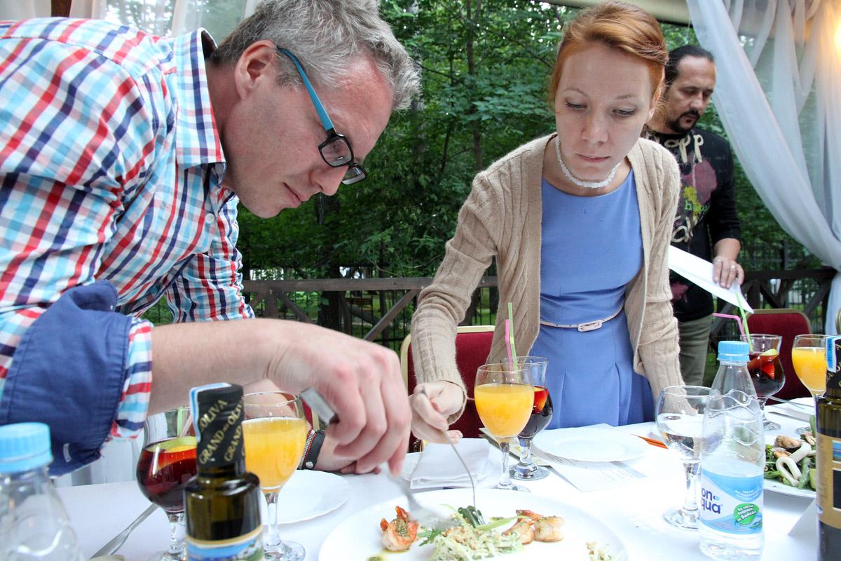 Битва на ножах: шеф-повара из Екатеринбурга устроили соревнования