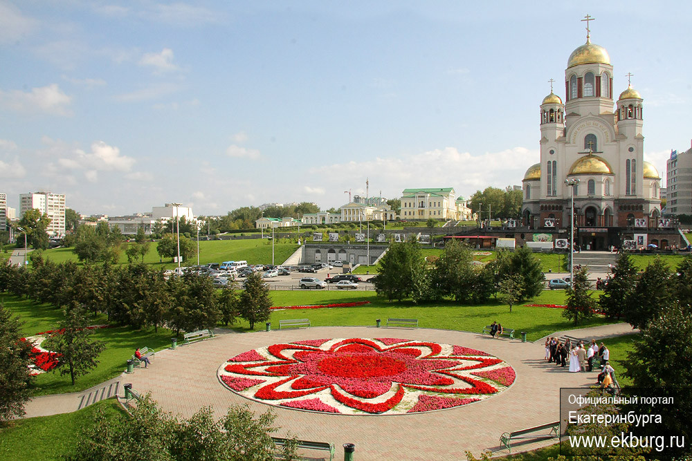 В июле в Екатеринбурге начнется традиционный конкурс цветников