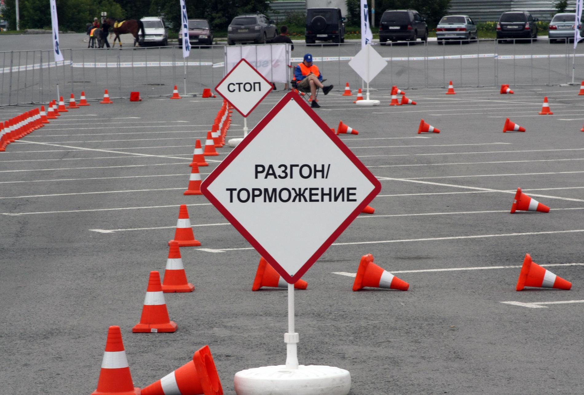 В Краснотурьинске курсант автошколы перепутал педали и попал в ДТП
