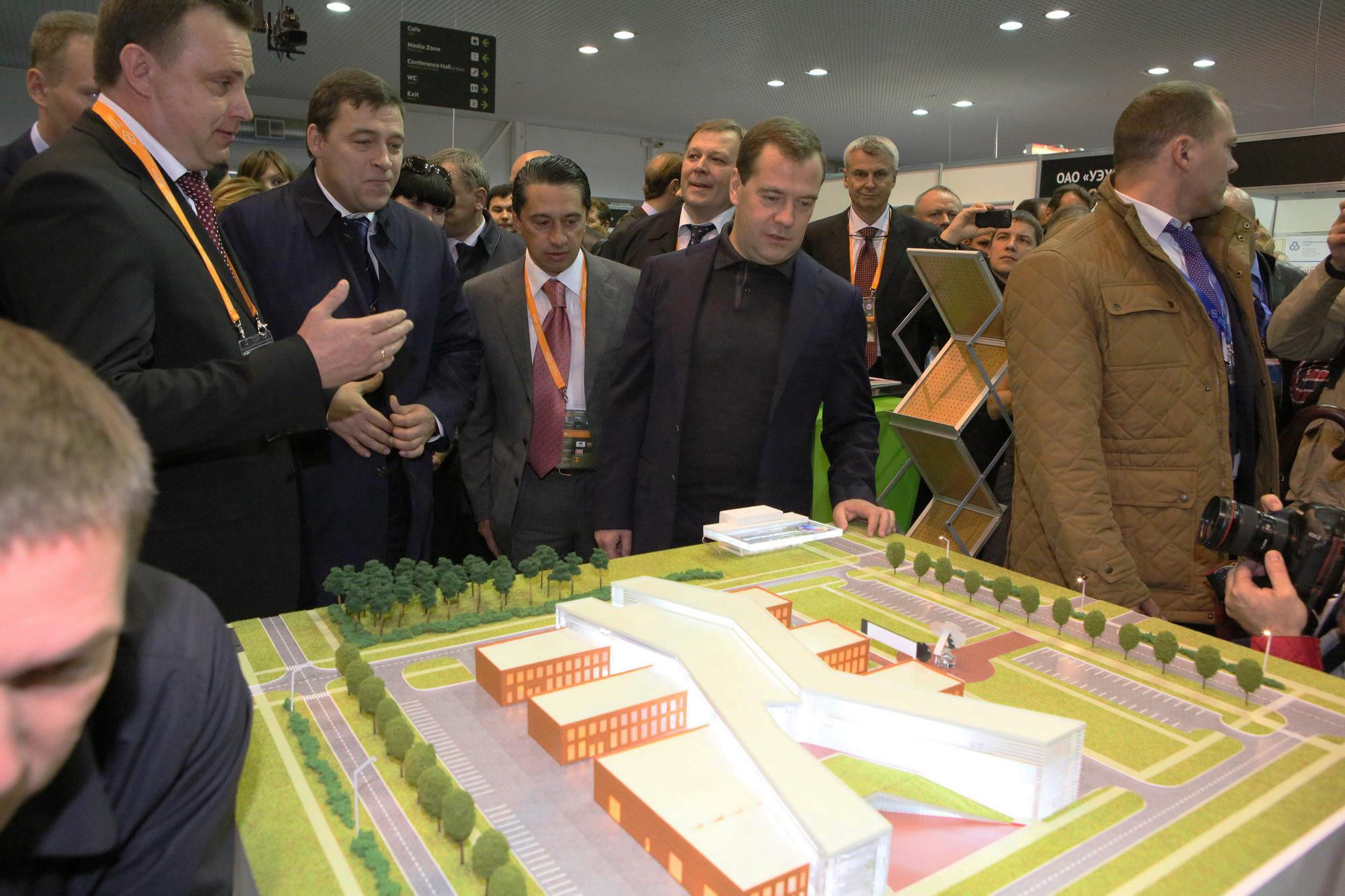 Медведева впечатлил нижнетагильский «Терминатор»