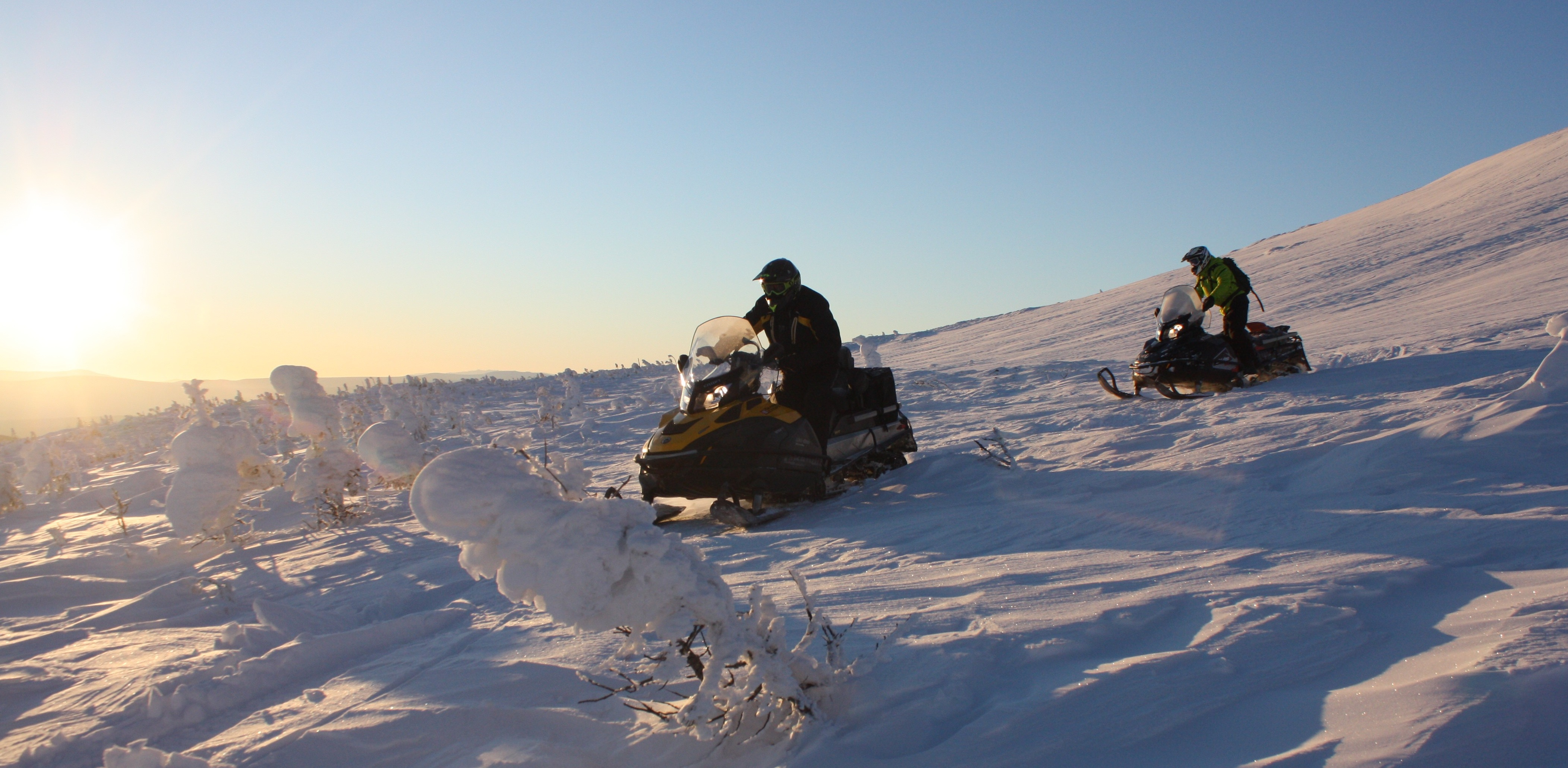 Морозостойкие парни проложат снегоходную трассу от Екатеринбурга до Северного Ледовитого океана
