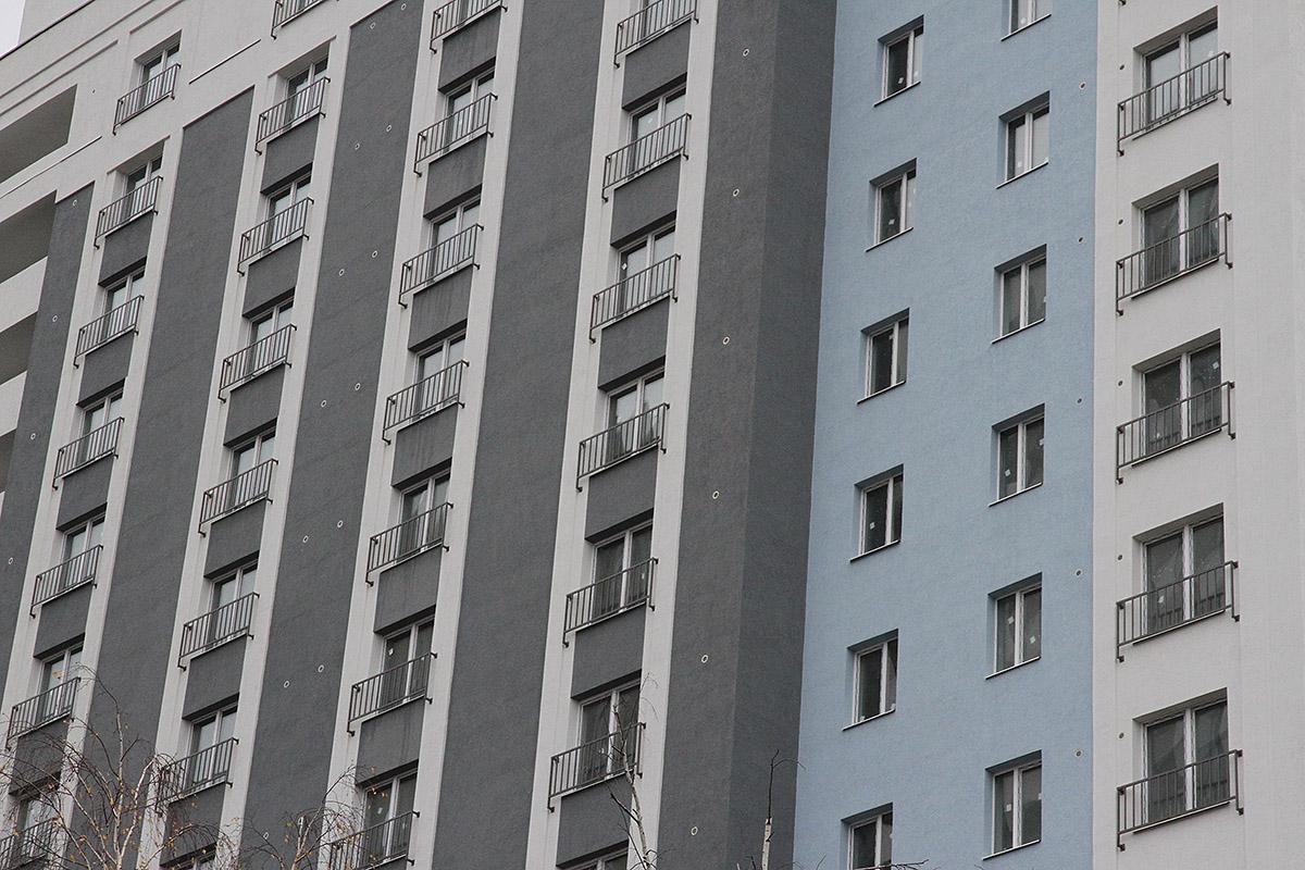 135 однушек, два лифта и лофт с террасой. На Шарташском рынке построили 16 этажей апартаментов