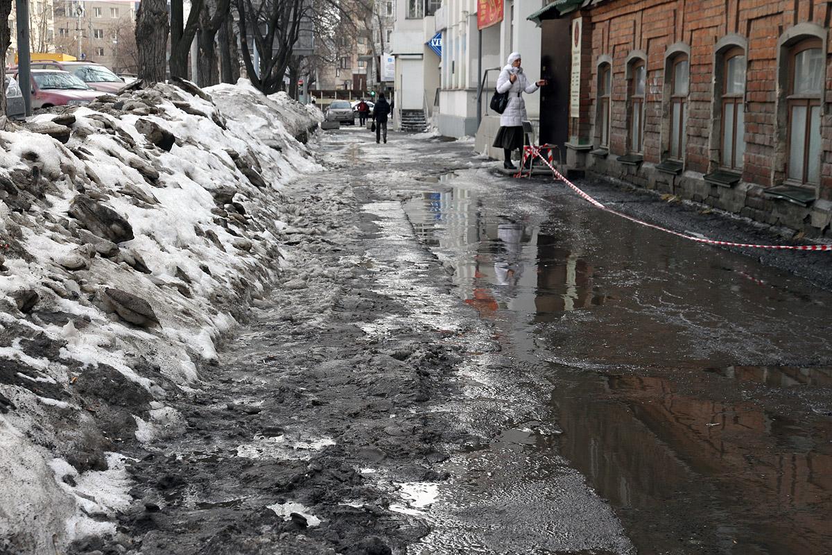 Прогноз погоды на неделю: грязно, скользко, холодно