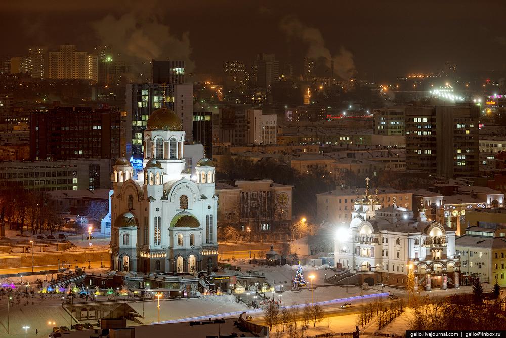 Новосибирский блогер заснял окоченевший Екатеринбург