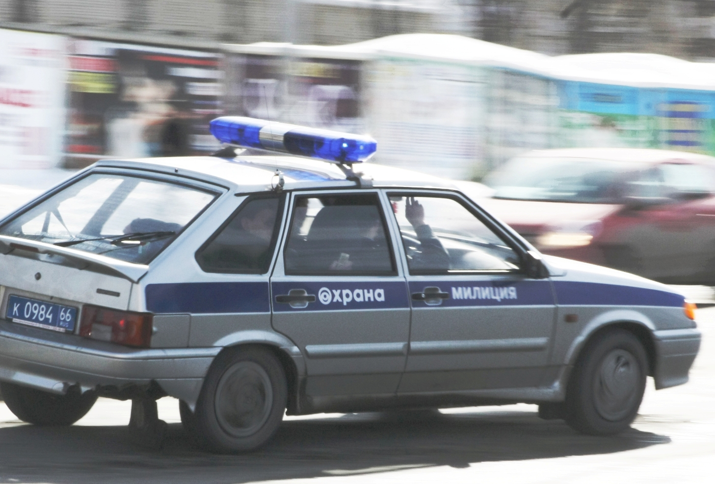 В Камышлове инспекторы ДПС устроили погоню за грабителями
