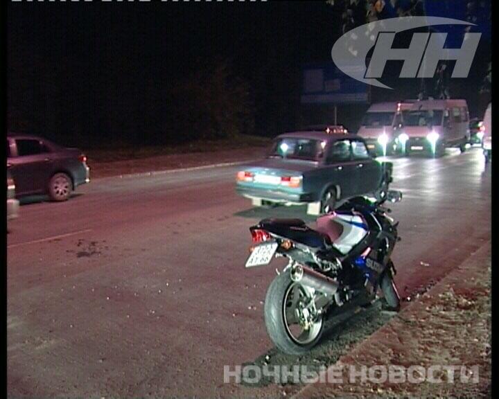 Маневр автомобилиста на Московской отправил байкера в больницу