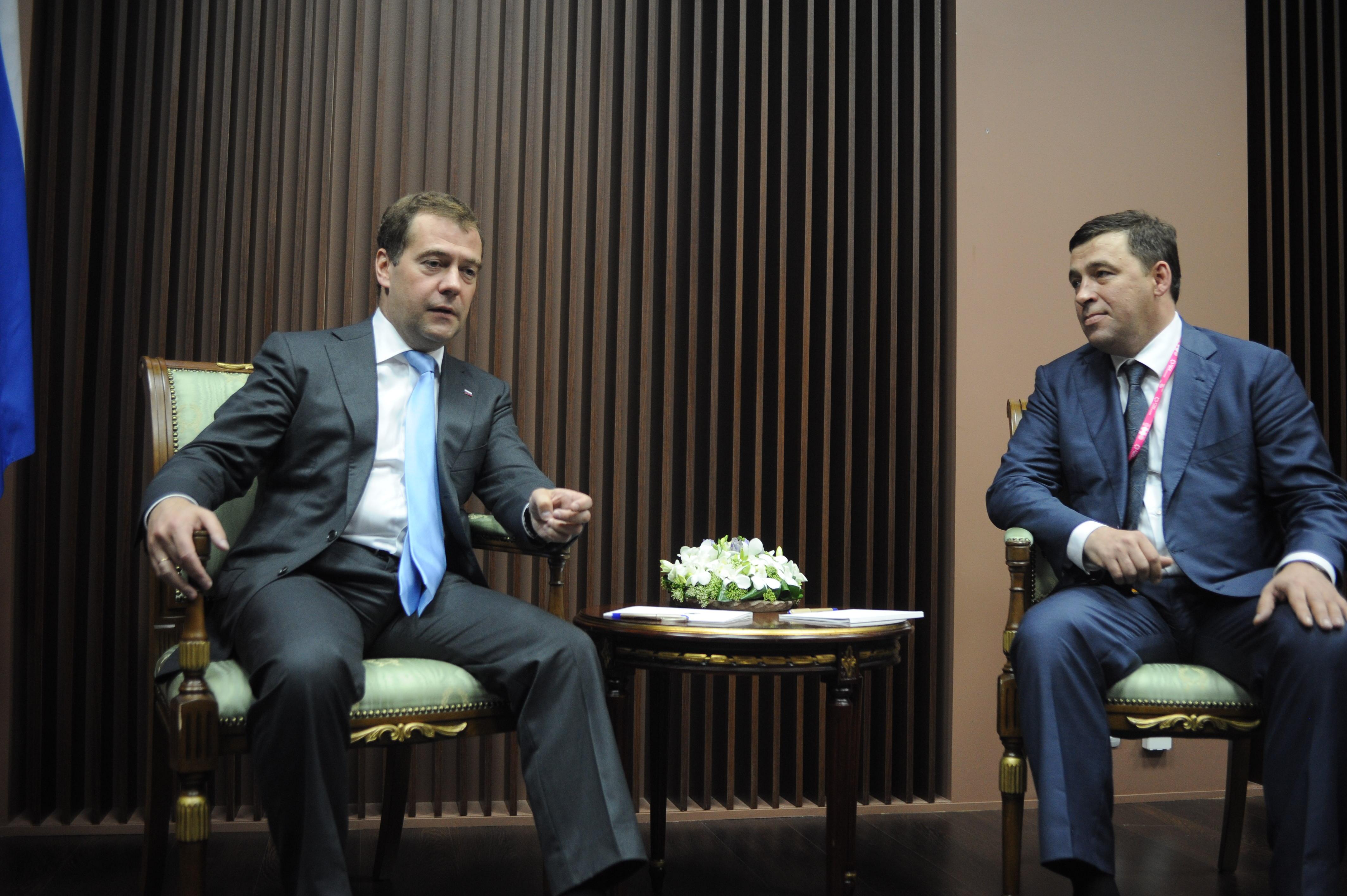 Как Дмитрий Анатольевич с Евгением Владимировичем встречались