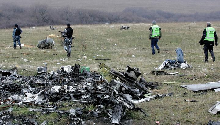 Обломки разбившегося Boeing вывезут из-под Донецка 23 ноября