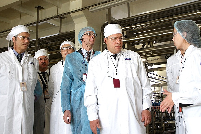 Губернатор открыл завод детского питания и замахнулся на статус «молочной столицы»