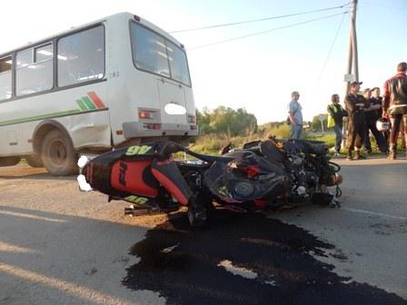 Почти 70% аварий с мотоциклистами происходят по их собственной вине