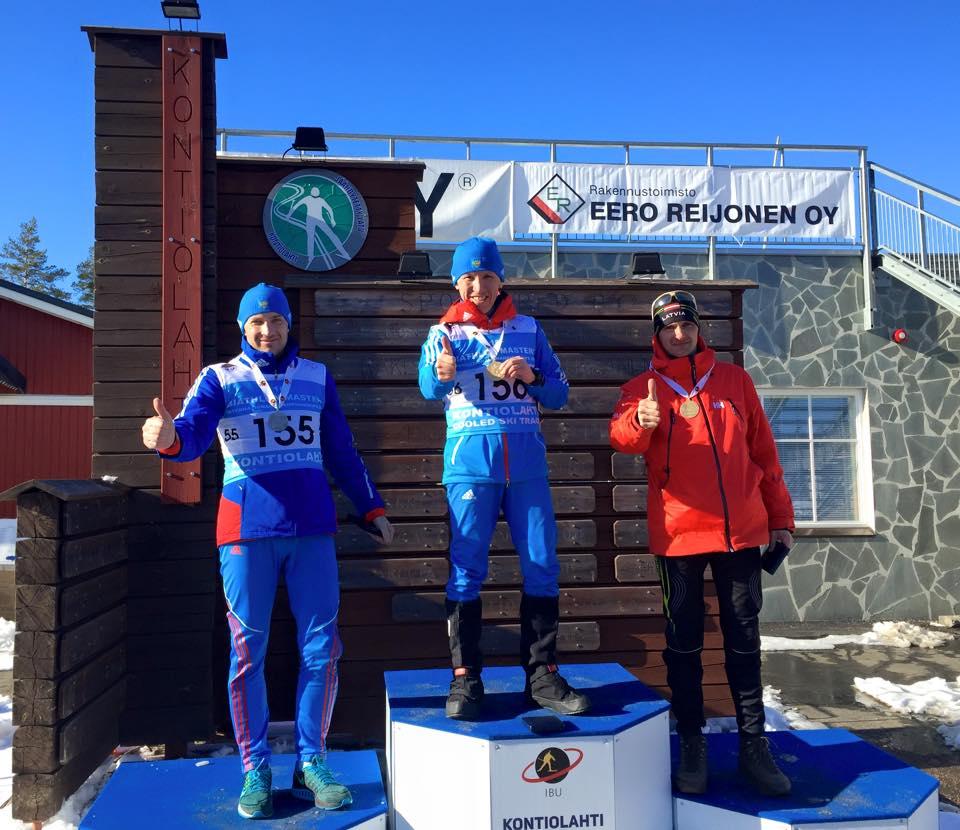 Екатеринбургский бизнесмен стал чемпионом мира по биатлону среди ветеранов