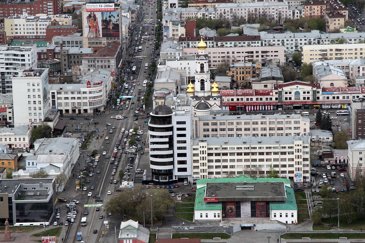 Блогеры прикинули, как будет выглядеть удобный автомобилистам Екатеринбург
