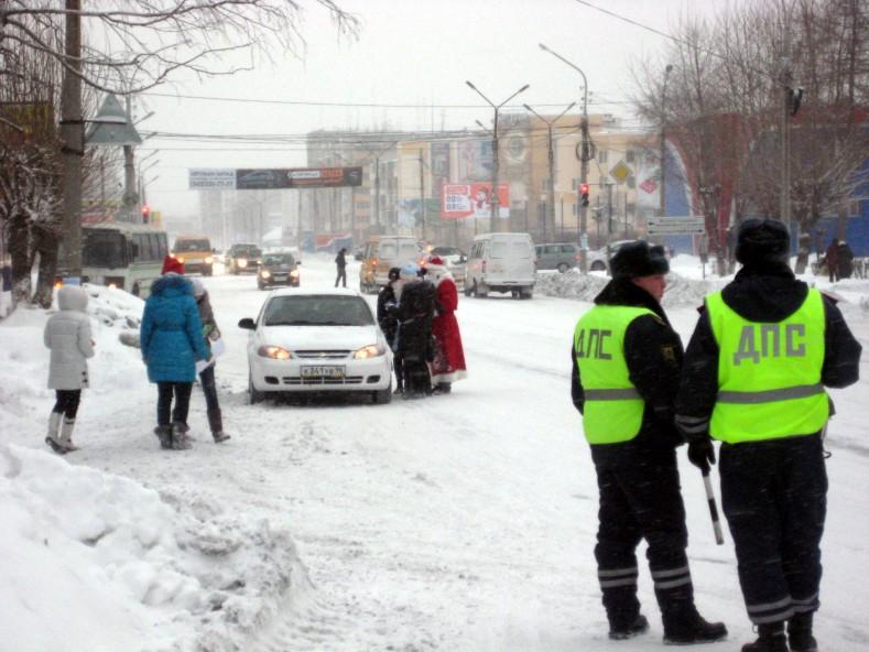 В новогодние праздники свердловские гаишники поймали 700 пьяных водителей