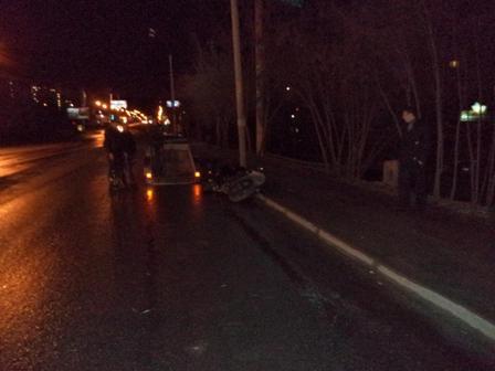 Три человека пострадали в ДТП на Макаровском мосту