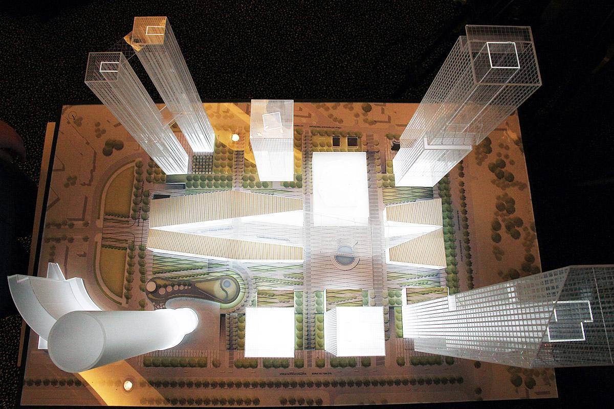 На небоскребах «Екатеринбург-Сити» установят ветрогенераторы