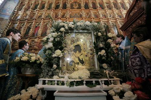 В Екатеринбург привезут Феодоровскую икону Божьей Матери