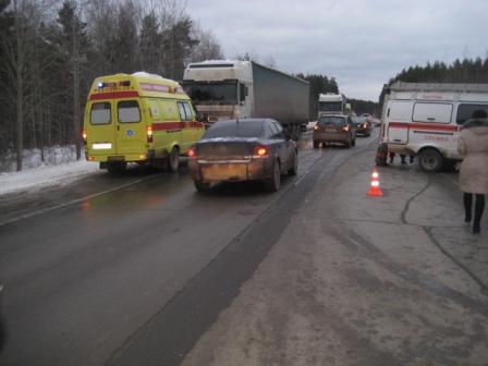 Около Заречного водитель и пассажир Daewoo Nexia погибли в ДТП