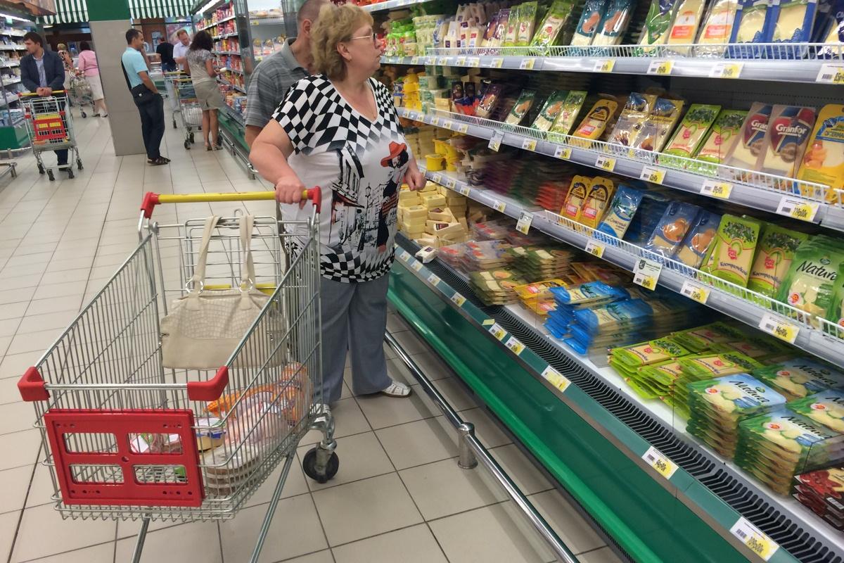 Минфин признал рост цен на продукты из-за введения эмбарго