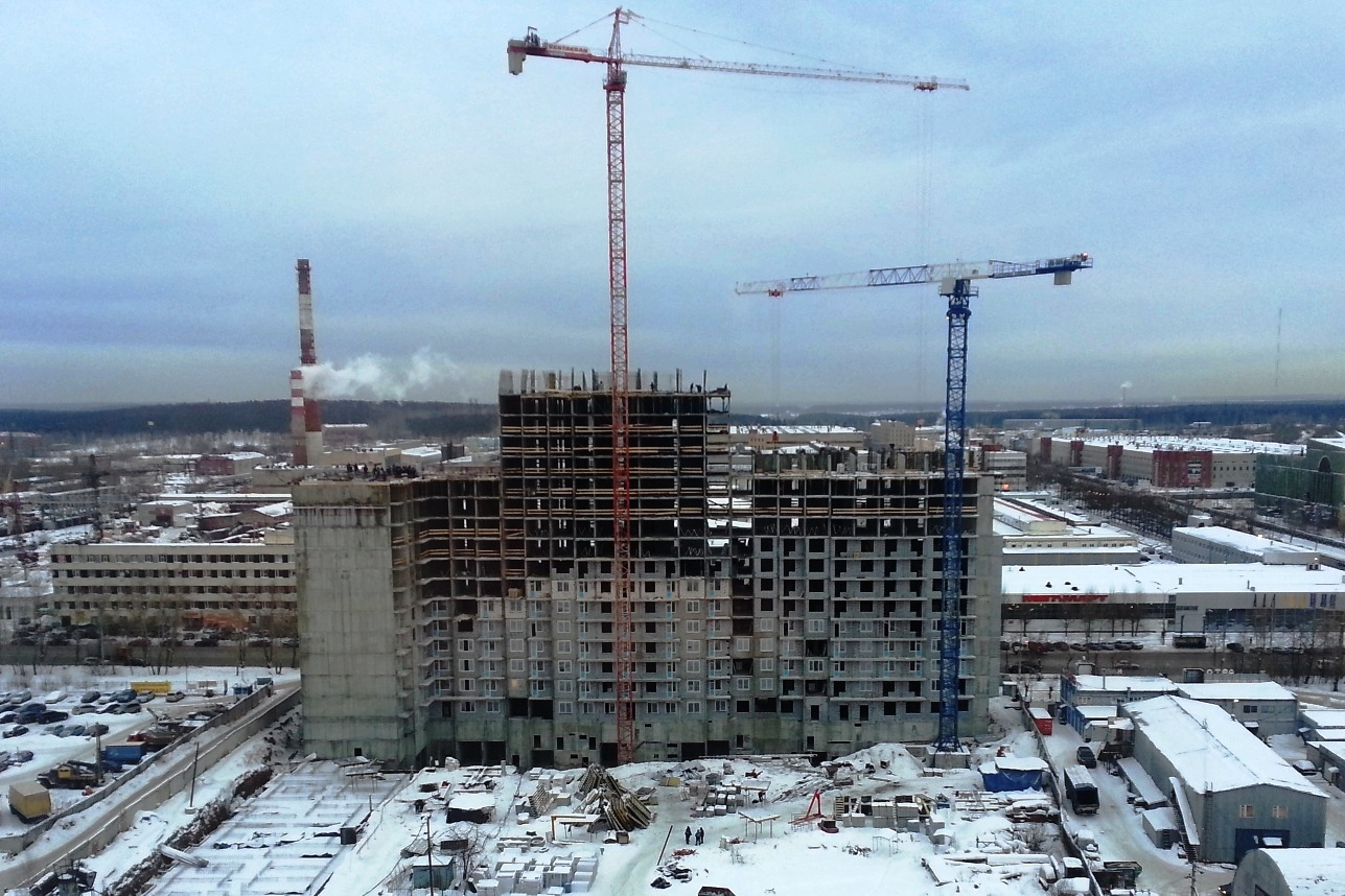 Власти насчитали в Екатеринбурге 8 проблемных строек. Адреса