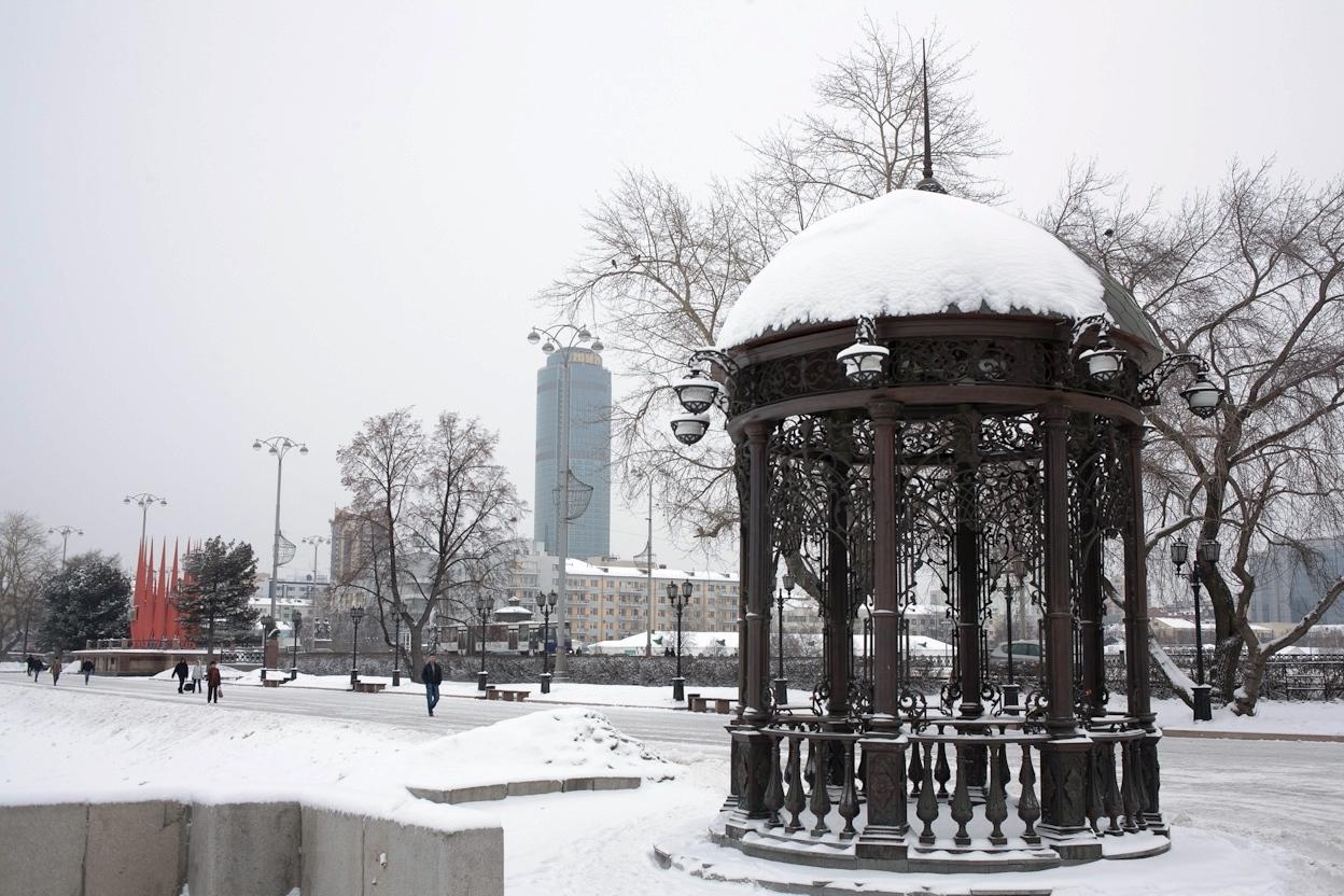 На выходные Екатеринбург вернется в зиму
