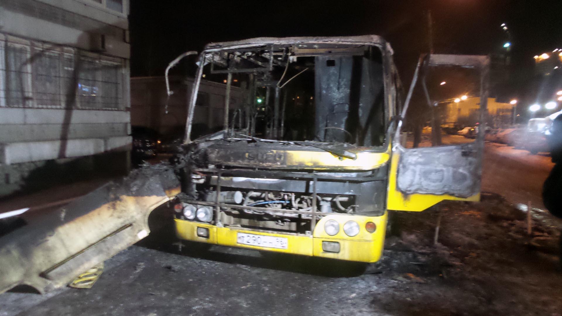 Войны конкурентов. За ночь на Юго-Западе сгорели два пассажирских автобуса