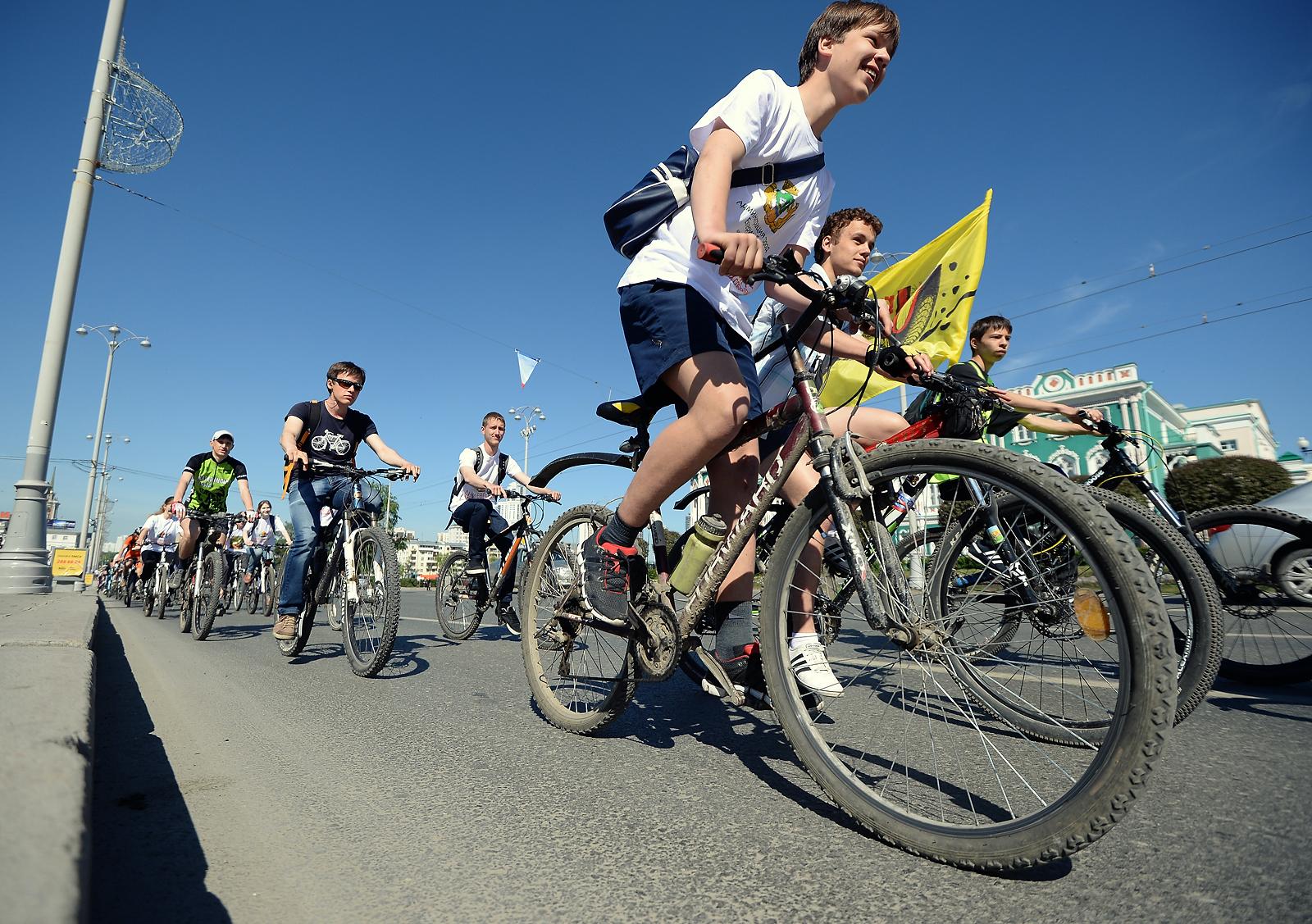 Горожане и иностранные дипломаты отметили «Дни Европы» велопробегом